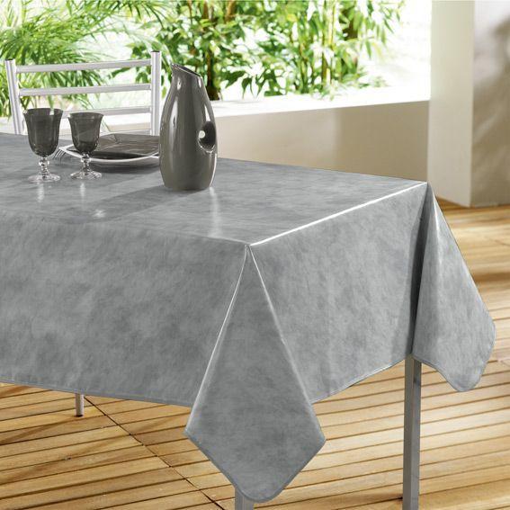 Nappe B Ton Cir Gris Toile Cir E Linge De Table Eminza
