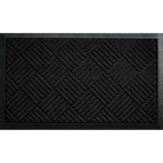 tapis d 39 entr e carreaux noir tapis d 39 entr e eminza. Black Bedroom Furniture Sets. Home Design Ideas