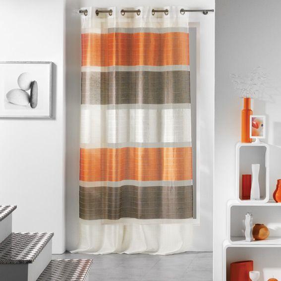 rideau orange. Black Bedroom Furniture Sets. Home Design Ideas