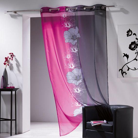voilage fushia voilage fushia sur enperdresonlapin. Black Bedroom Furniture Sets. Home Design Ideas