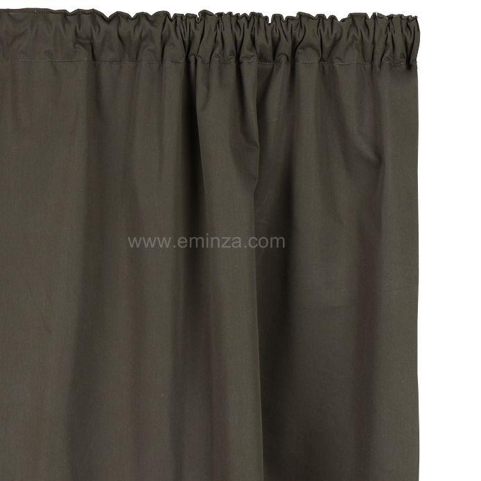 rideau de porte thermique 100 x h220 cm igloo taupe fonc rideau thermique et isolant eminza. Black Bedroom Furniture Sets. Home Design Ideas