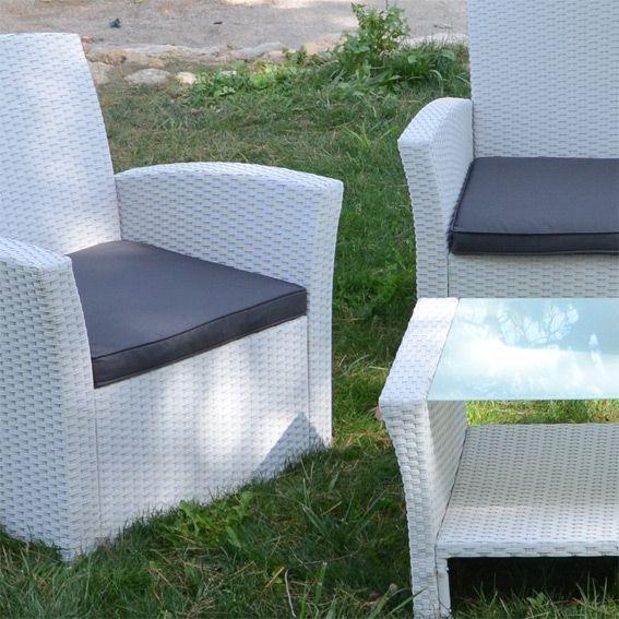 coussin salon de jardin. Black Bedroom Furniture Sets. Home Design Ideas
