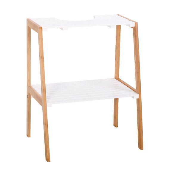 meuble dessous lavabo sweden blanc dessous lavabo eminza. Black Bedroom Furniture Sets. Home Design Ideas
