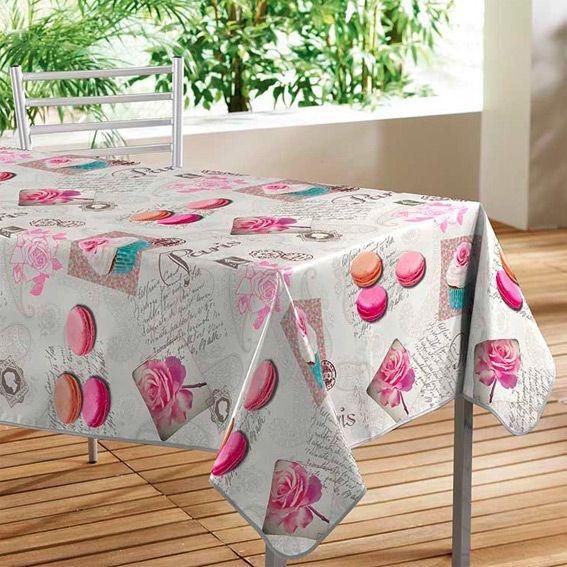nappe cir e rectangulaire l240 cm sweet paris eminza. Black Bedroom Furniture Sets. Home Design Ideas