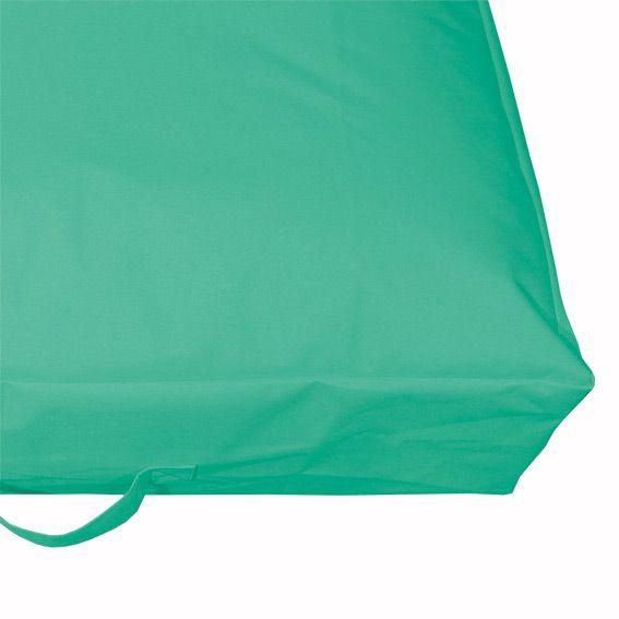 coussin de sol gonflable vert d 39 eau mobilier gonflable eminza. Black Bedroom Furniture Sets. Home Design Ideas
