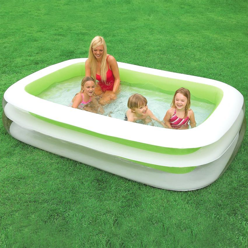Piscine gonflable cancun intex piscine et accessoires for Piscine intex gonflable