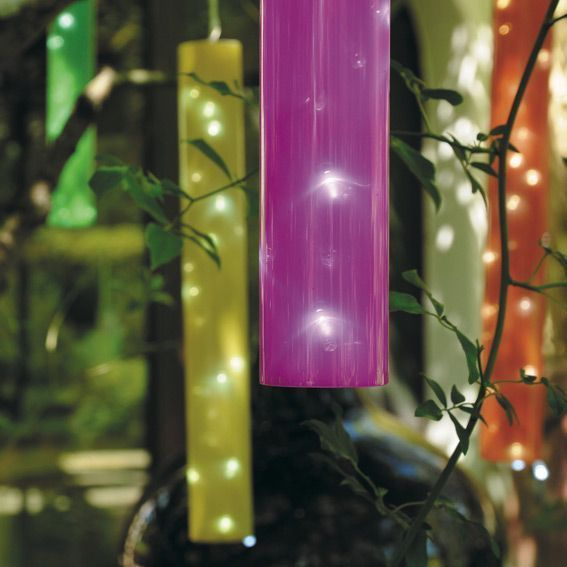 Guirlande De Tubes Lumineux Multicolore Eminza