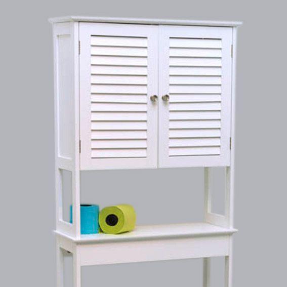 meuble dessus wc florence blanc dessus wc eminza. Black Bedroom Furniture Sets. Home Design Ideas