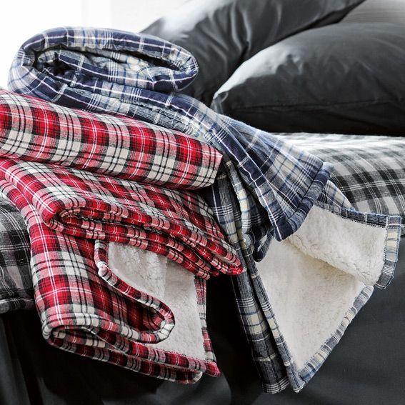 plaid douceur cheyenne bleu marine plaid douceur polaire eminza. Black Bedroom Furniture Sets. Home Design Ideas