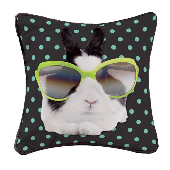 housse de coussin bunny star anis coussin et housse de coussin eminza. Black Bedroom Furniture Sets. Home Design Ideas