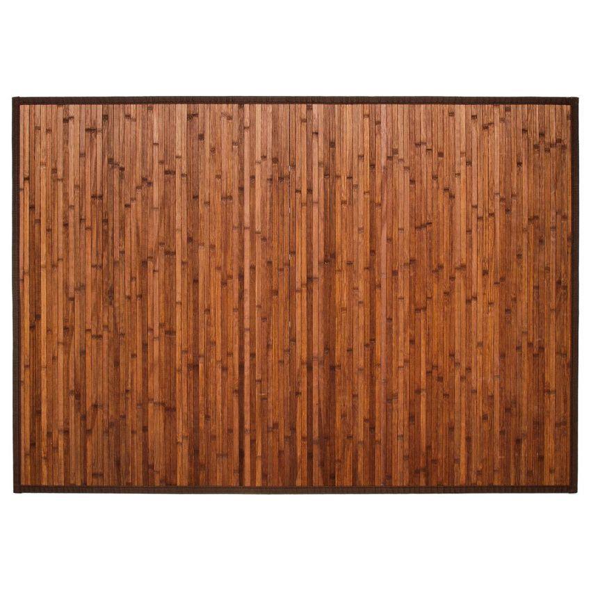 tapis lattes 170 cm bambou chocolat tapis bambou eminza. Black Bedroom Furniture Sets. Home Design Ideas