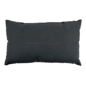 housse de coussin imitation fourrure gris coussin et housse de coussin eminza. Black Bedroom Furniture Sets. Home Design Ideas