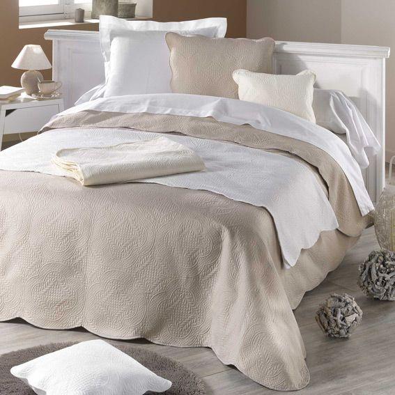 couvre lit boutis linge de lit eminza. Black Bedroom Furniture Sets. Home Design Ideas