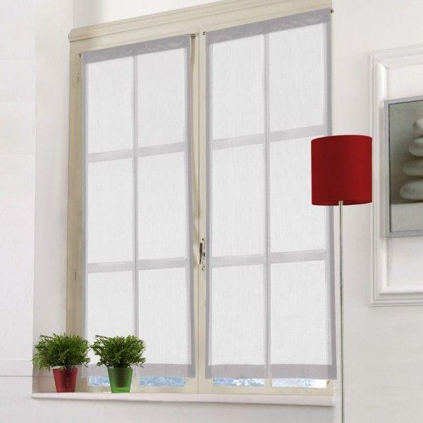 voilage vitrage rideau et voilage eminza. Black Bedroom Furniture Sets. Home Design Ideas