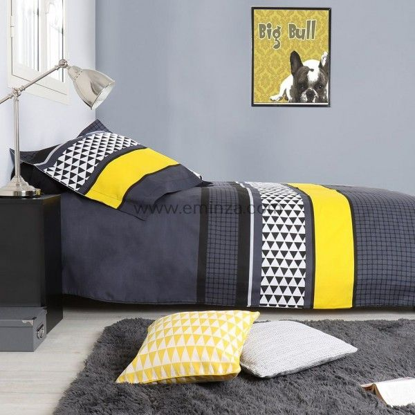 linge de lit housse de couette couette draps couvre lit eminza. Black Bedroom Furniture Sets. Home Design Ideas