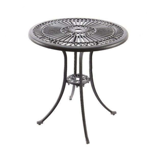 Salon de jardin repas et detente gris eminza for Table bistrot exterieur