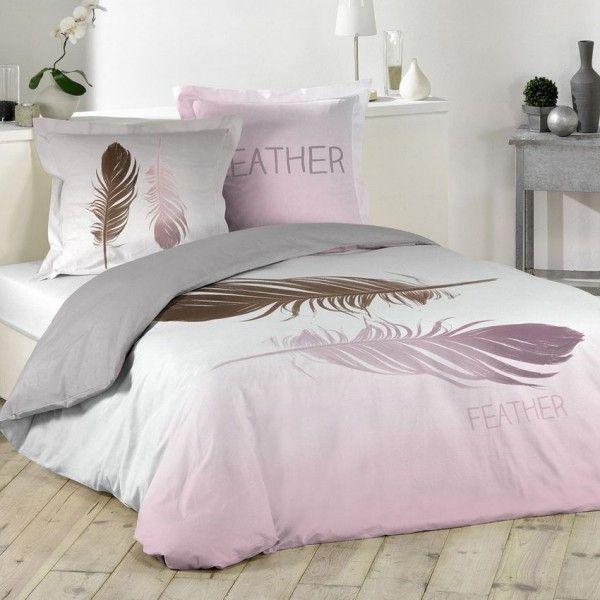 Housse de couette linge de lit eminza - 3 suisses soldes linge de lit ...